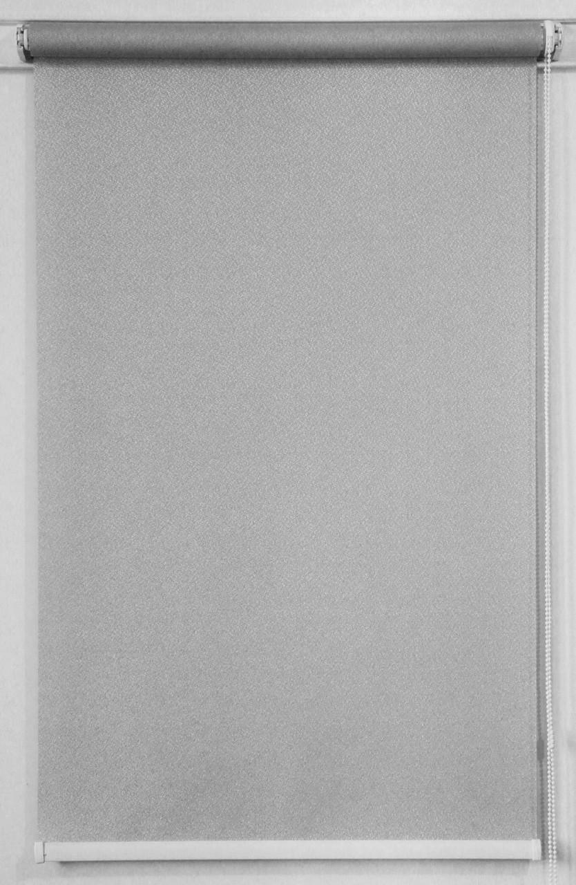 Готовые рулонные шторы 375*1500 Ткань Pearl 03 Грей