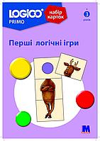 Набір карток LOGICO PRIMO Перші логічні ігри