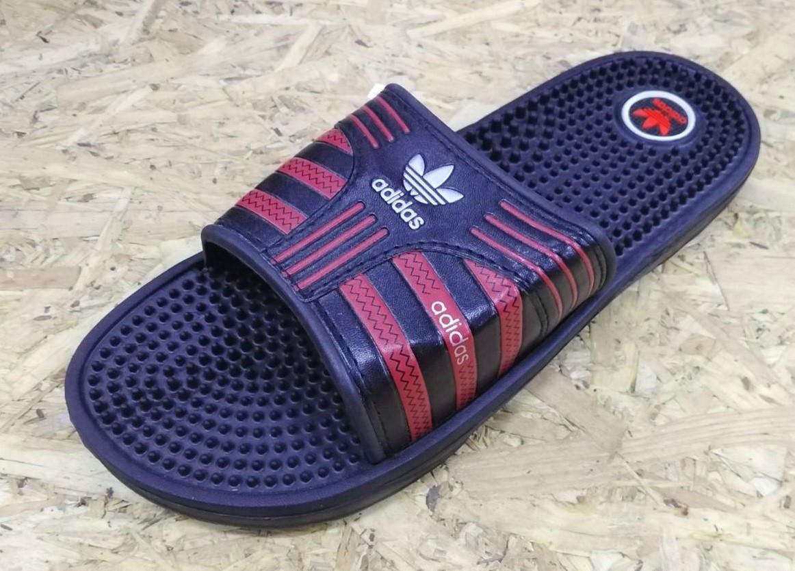 Шлепанцы мужские Adidas 1014-3 (масаж)