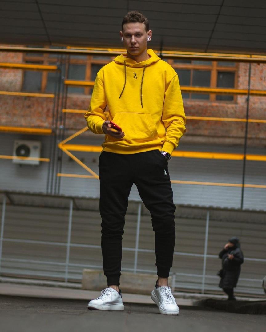 Спортивный комплект унисекс Jog Classic желтый/черный