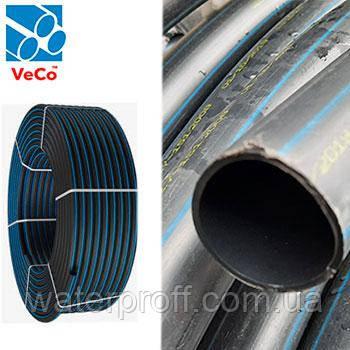 Труба ПЭ-80 Standart черная 20 PN6 Veco, фото 2