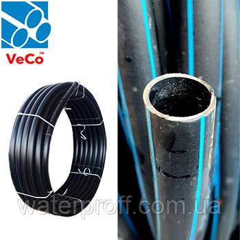 Труба ПЭ-80 Technical черная 50 PN6 Veco