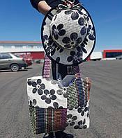 Пляжная сумка со шляпкой в подарок