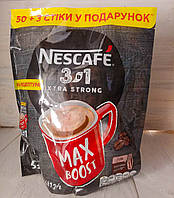 Nescafe Нескафе Xtra Strong Max Boost 3в1 кофейный напиток 53 стика