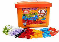 Конструктор Mega Bloks 480 деталей в коробке, GJD23