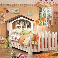 """Підліткове ліжко """"Робін"""" з чистого дерева, фото 1"""