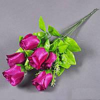 Букет розы NC-49/7 (14 шт/уп) Цветы искусственные оптом, фото 1