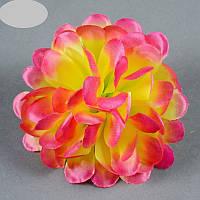 Головка хризантемы атлас NН - 2 (50 шт./ уп.) Искусственные цветы оптом, фото 1