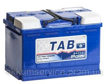 Акумулятор автомобільний TAB Polar Blue 78AH R+ 720A (TPB78-0)