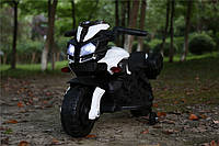 Детский электромотоцикл T-7218 EVA колёса, красный