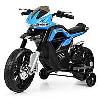 Детский мотоцикл Bambi на аккумуляторе JT5158-4 синий