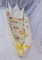 Кокон гнездышко для новорожденных. Мини-кроватка