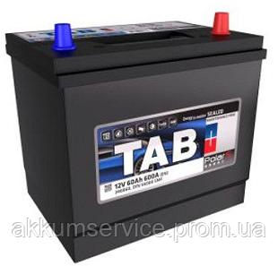 Аккумулятор автомобильный TAB Polar S 60AH R+ 600A Asia (246860)