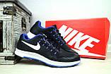 Кроссовки 5072 -3 (Nike Zoom) (весна/осень, мужские, текстиль, черный), фото 2