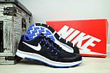 Кроссовки 5072 -3 (Nike Zoom) (весна/осень, мужские, текстиль, черный), фото 3