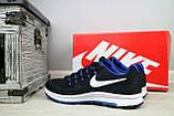 Кроссовки 5072 -3 (Nike Zoom) (весна/осень, мужские, текстиль, черный), фото 4