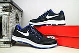 Кроссовки 5072 -3 (Nike Zoom) (весна/осень, мужские, текстиль, черный), фото 5