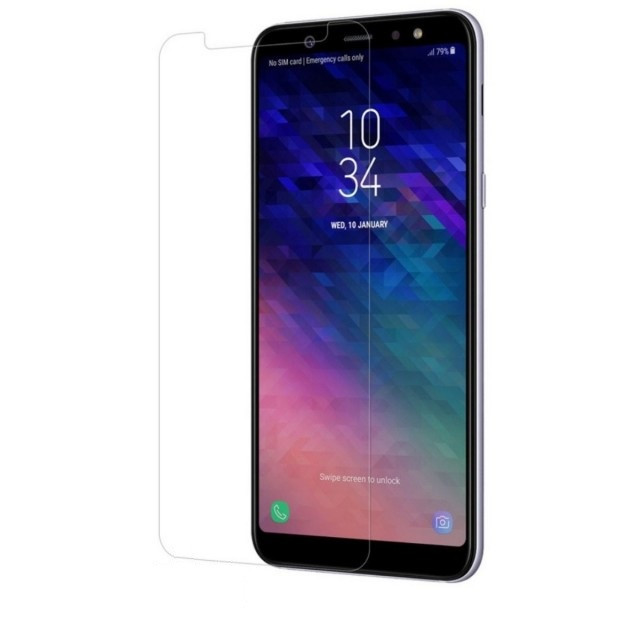 Скло 2.5 D Samsung A6 Plus 2018