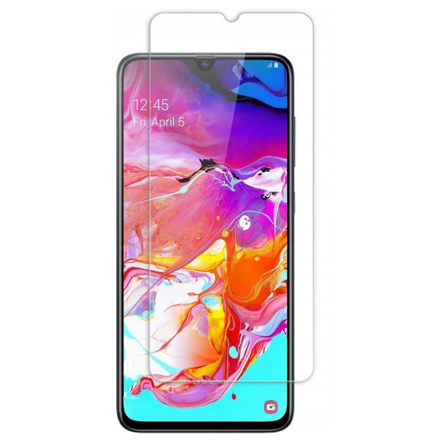Стекло 2.5D Samsung A70