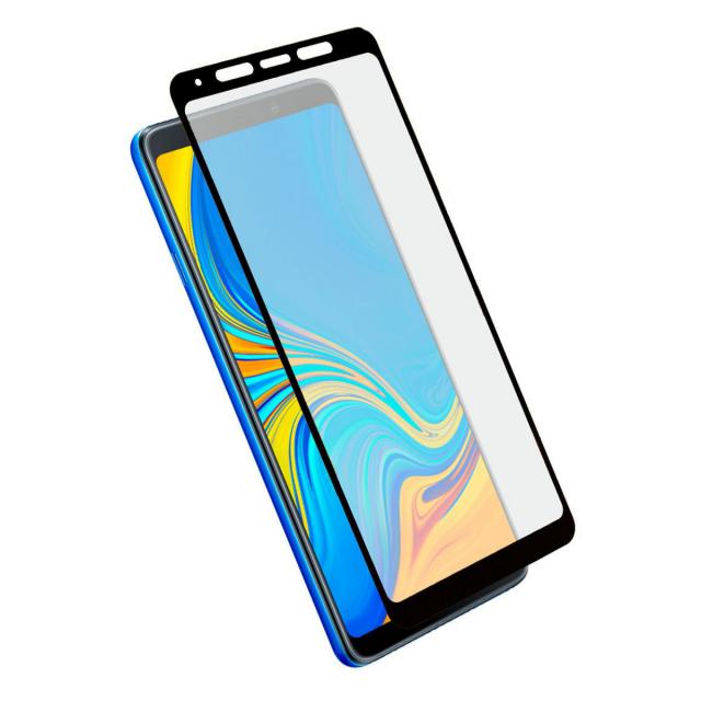 Стекло 5D Samsung A9 2018 Black