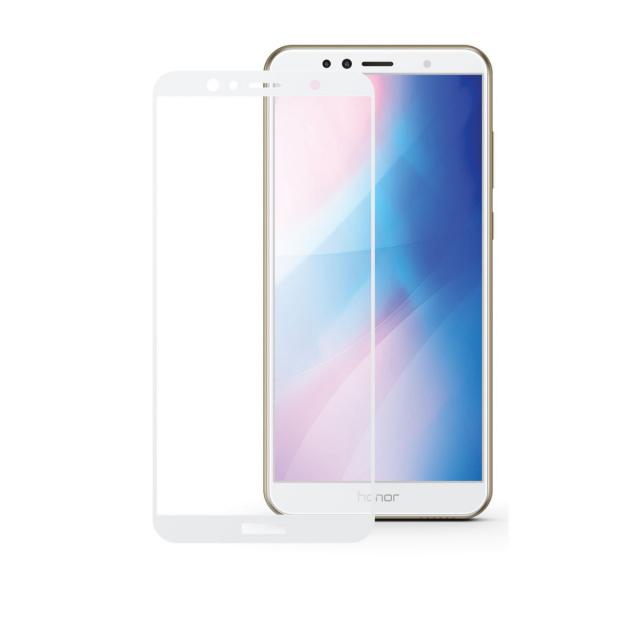 Скло Full Glue HUAWEI 8E/7A/Y6/Y6 Prime 2018 White