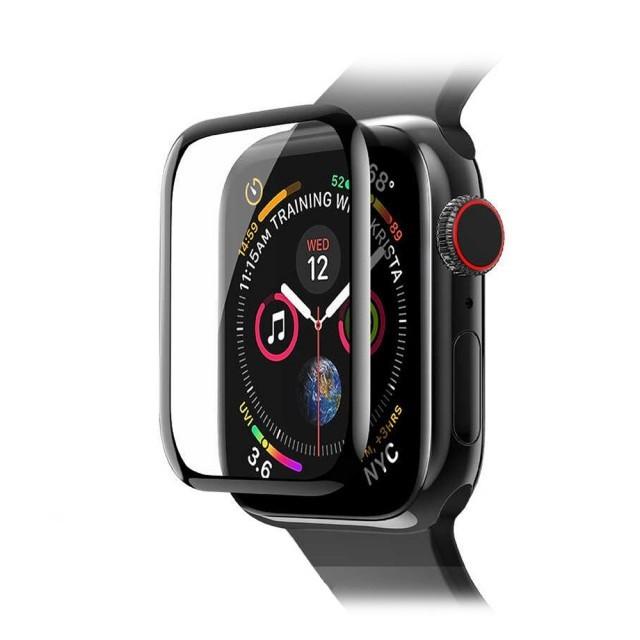 Скло Full Glue Apple Watch Series 4/5 44 mm