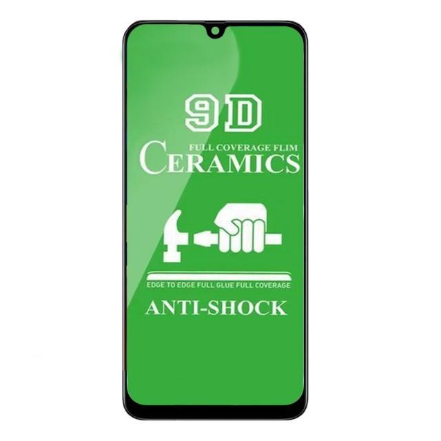 Захисне скло Ceramic Samsung A50S Black