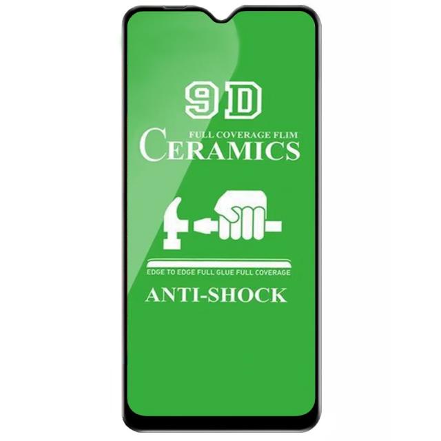 Защитное стекло Ceramic Xiaomi Redmi 8A Black