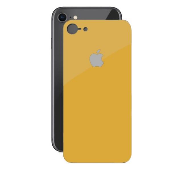 Скло Захисне Back Glass iPhone 7/8 Gold