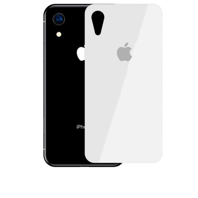 Стекло Защитное Back Glass iPhone XR White