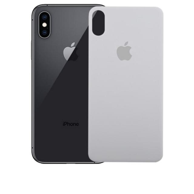 Скло Захисне Back Glass iPhone X/XS White