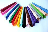 "Набор корейского мягкого фетра Pugovichok ""Основной"" 20 цветов для рукоделия и творчества"