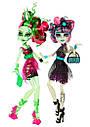 Набір ляльок Monster High Венера і Рошель (Rochelle and Venus) Зомбі Шейк Монстер Хай Школа монстрів, фото 7