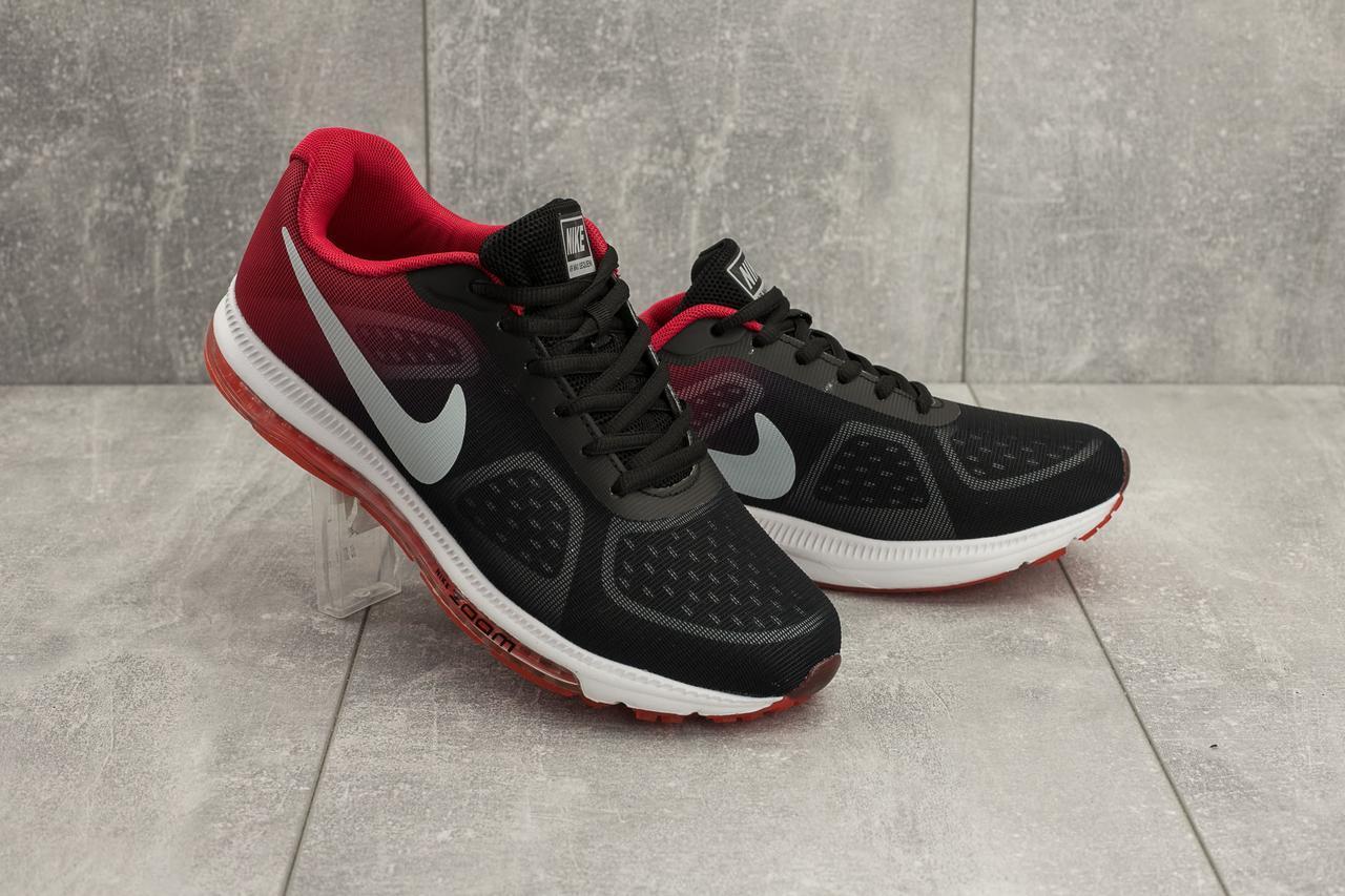 Кроссовки A 002 -31 (Nike Zoom) (весна/осень, мужские, текстиль, черный)