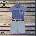 Рубашка и шорты для мальчика 1-2-3-4 года, фото 2