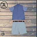 Рубашка и шорты для мальчика 1-2-3-4 года, фото 3
