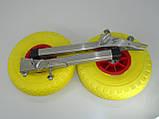 Транцевые колеса КТ270Н Штифт-Пено (нерж/сталь), фото 2