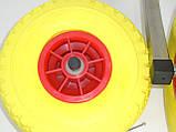 Транцевые колеса КТ270Н Штифт-Пено (нерж/сталь), фото 3
