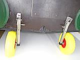 Транцевые колеса КТ270Н Штифт-Пено (нерж/сталь), фото 4