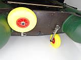 Транцевые колеса КТ270Н Штифт-Пено (нерж/сталь), фото 6