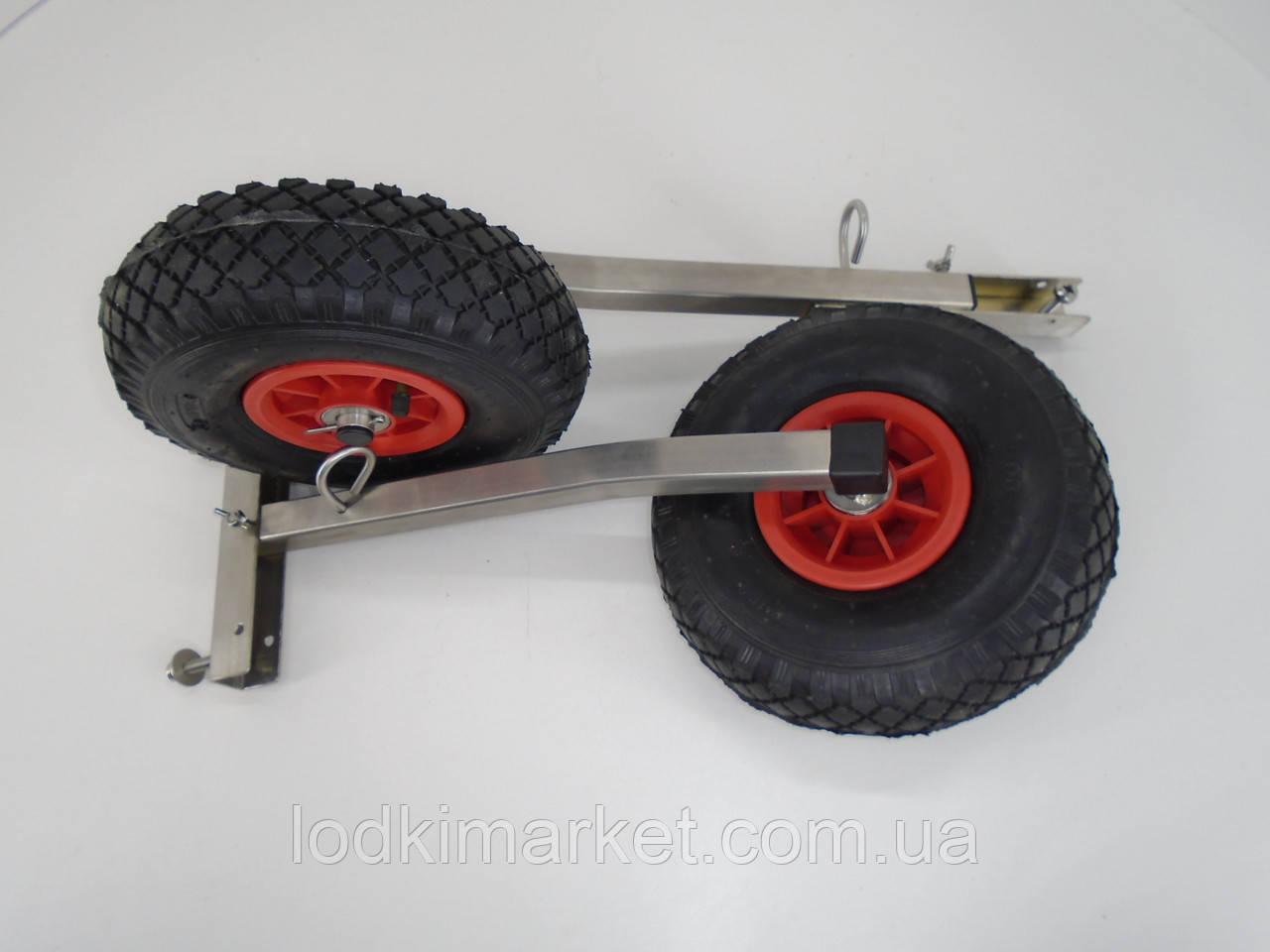 Транцевые колеса КТ400Н Штифт (нерж/сталь)
