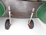 Транцевые колеса КТ400Н Штифт (нерж/сталь), фото 5