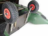 Транцевые колеса КТ400Н Штифт (нерж/сталь), фото 6