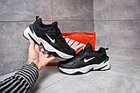 Кроссовки мужские Nike M2K Tekno, черные (14593) размеры в наличии, фото 2