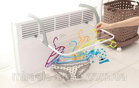 Сушилка Dryer dryer battery портативная сушилка для белья на батарею, фото 2
