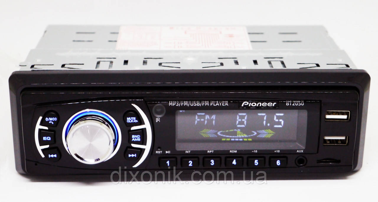 Автомагнитола пионер Pioneer BT2050 Bluetooth 2 USB