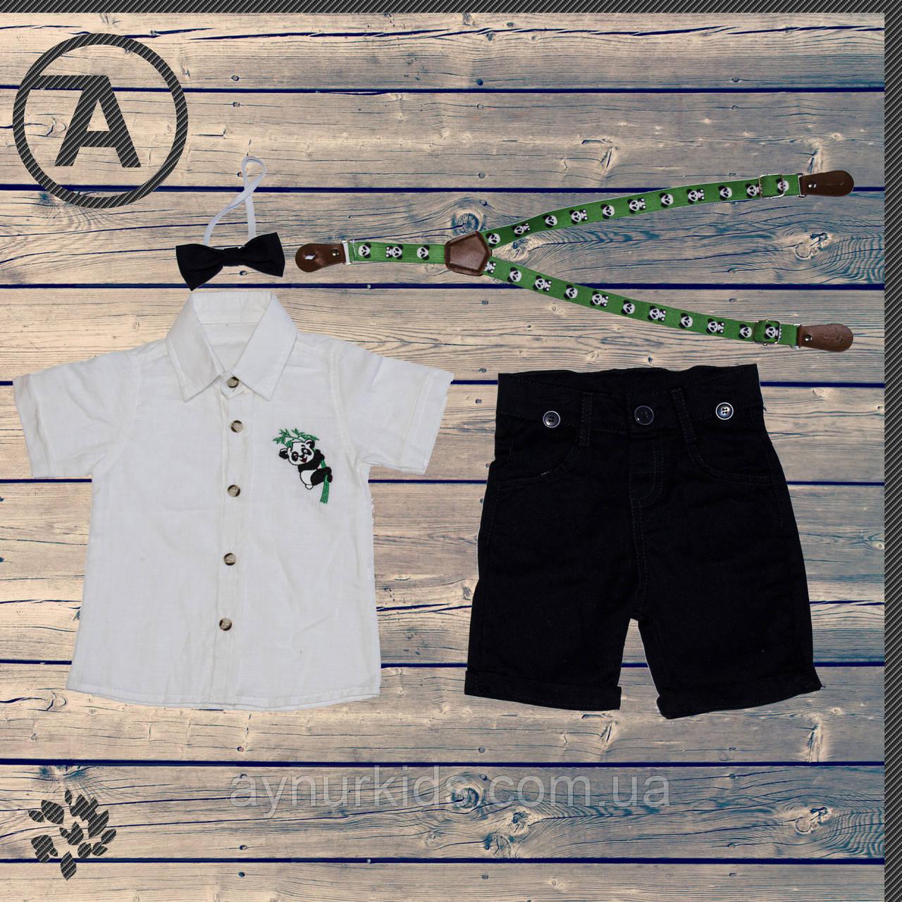 Комплект для мальчика «Панда» 1-2-3-4 года
