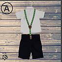Комплект для мальчика «Панда» 1-2-3-4 года, фото 2