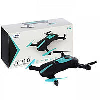 Квадрокоптер селфи-дрон JY018, фото 1
