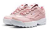 Кроссовки женские  Fila Disruptor, розовые (14252) размеры в наличии ► [  38 39  ], фото 7